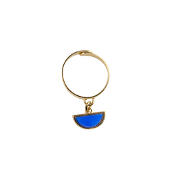 Mobile ring - Blue