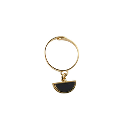 Mobile ring - Black