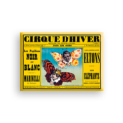 Winter Circus Magnet