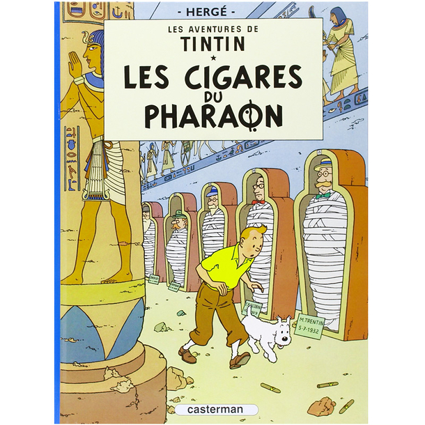 The adventures of Tintin - Cigars of the pharaoh