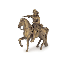 Figurine Louis XIV on his horse