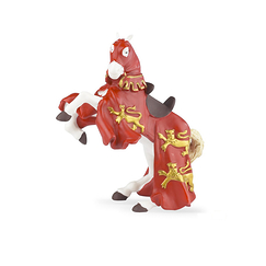 Figurine Red King Richard horse