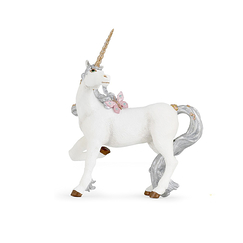 Figurine Silver unicorn