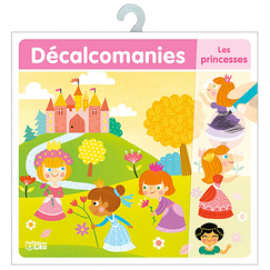 Décalcomanies - Les princesses