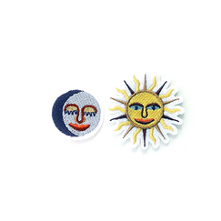 Sun and Moon Patches - Macon & Lesquoy