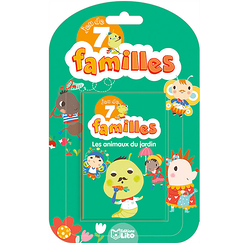 Game of 7 families - Garden animals