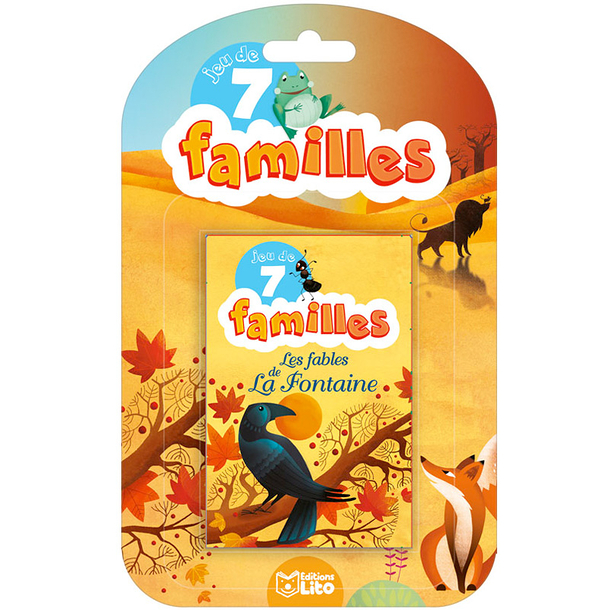 Game of 7 families - The fables of La Fontaine