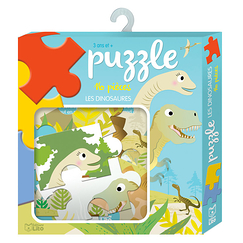 16 pieces puzzle - Dinosaurs