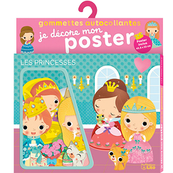 Self-adhesive stickers - Princess