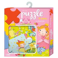 12 piece puzzle - Princess