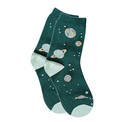 Planet Socks - Green