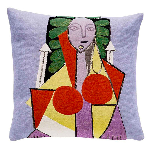 Cushion cover Picasso Woman in an armchair