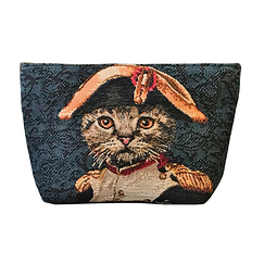 Pouch Cat Napoleon - Blue