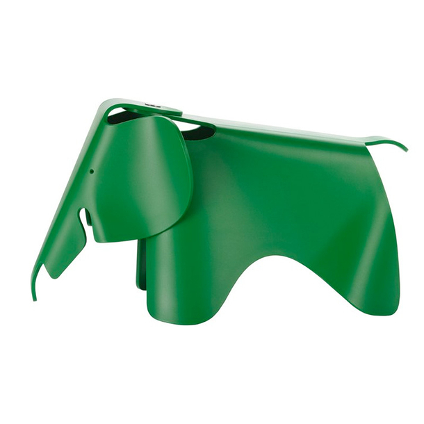 Eames Elephant (small)l - Green