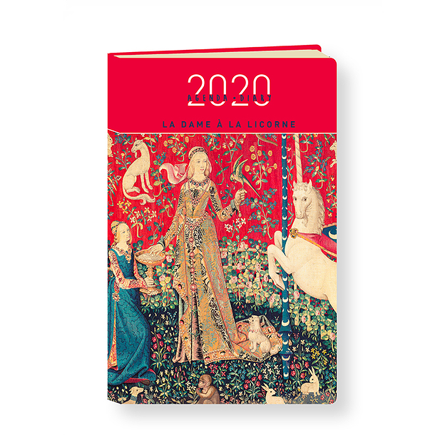 Lady and the unicorn 2020 Diary