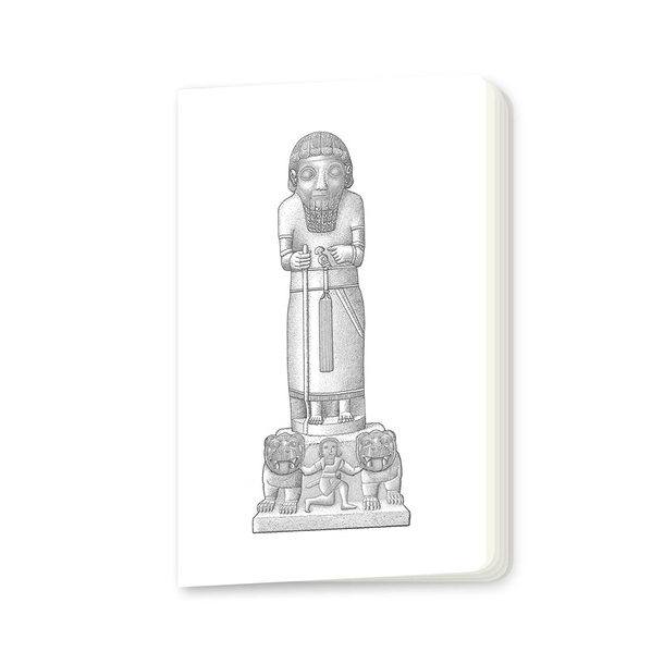 Royal Statue of Karkemish Small notebook