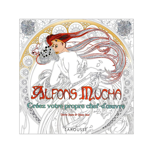 Alfons Mucha Colourings