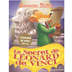 Geronimo Stilton - Le secret de Léonard de Vinci