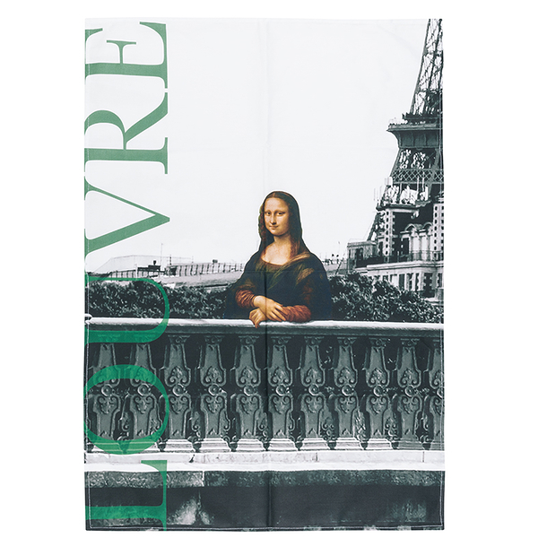Louvre Kitchen Towel - Mona Lisa