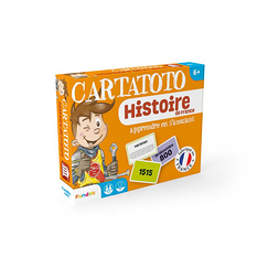 Cartatoto History of France - Set of 110 playing cards