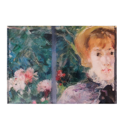 After lunch Morisot Documents holder with snap button - A5