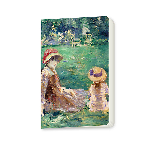 In the garden of Maurecourt Morisot Small notebook