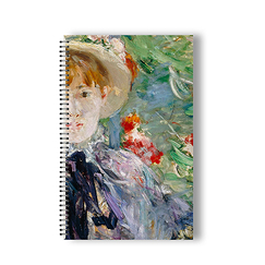 After lunch Morisot Spiral notebook