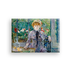 After lunch Morisot Magnet
