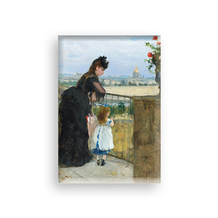 Magnet Morisot Woman and child on the balcony