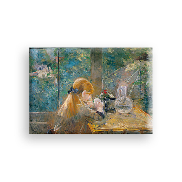 On the Veranda Morisot Magnet