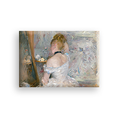 Woman in her toilet Morisot Magnet