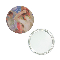 Pocket mirror Morisot In front of the mirror