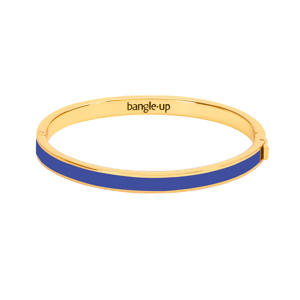 Bangle with clasp - Clematis Blue - Bangle Up