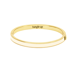 Bangle with clasp - White sand - Bangle Up