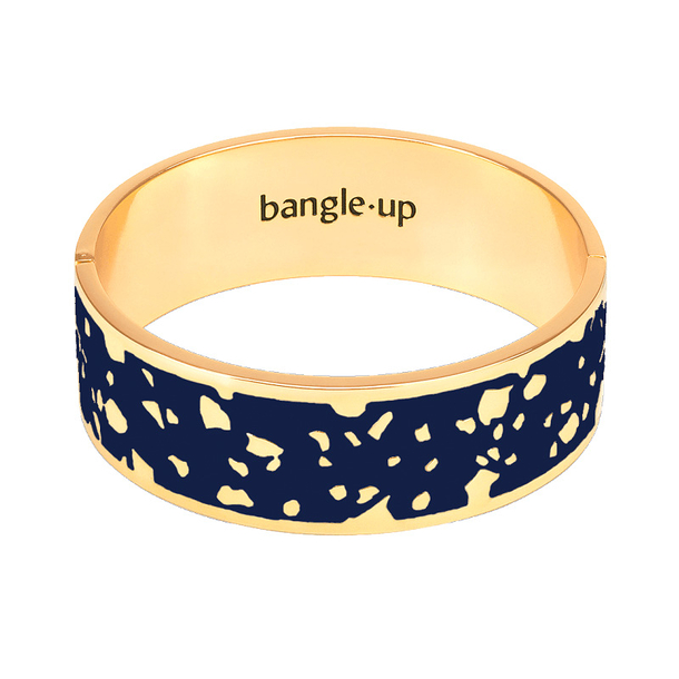 Jonc avec fermoir - Bleu nuit - Bangle Up