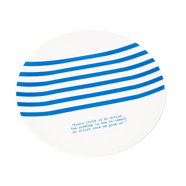 Striped Plate Picasso