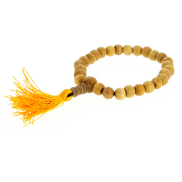 Bracelet-Mala Light Wood Scented
