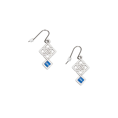 Earrings Da Vinci - Interlacing