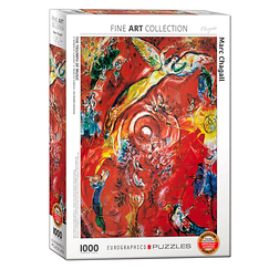 1000 Pieces Puzzle - Chagall - The triumph of music