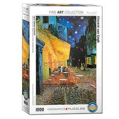 1000 Pieces Puzzle - Van Gogh - Café Terrace at Night