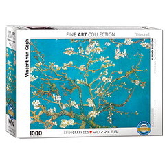 1000 Pieces Puzzle - Almond blossom
