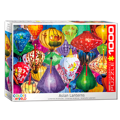 1000 Pieces Puzzle - Asian Lanterns