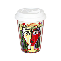 Picasso Travel Mug - Woman with a hat