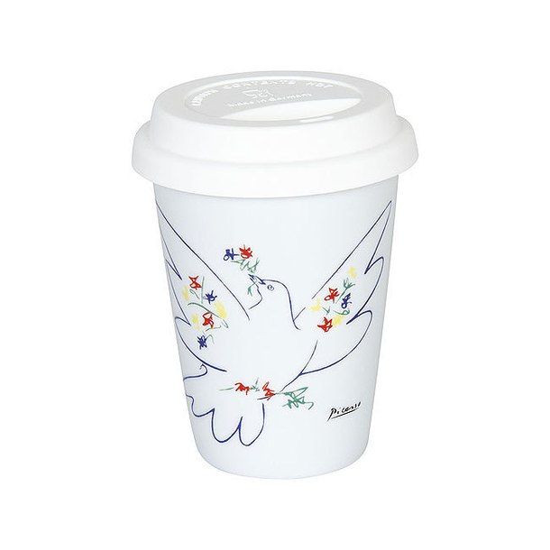 Picasso Travel Mug - Dove of Peace