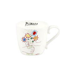 Picasso Mug - The bouquet of friendship