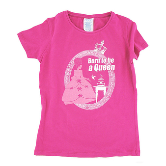 T-Shirt Born to be a Queen - Child