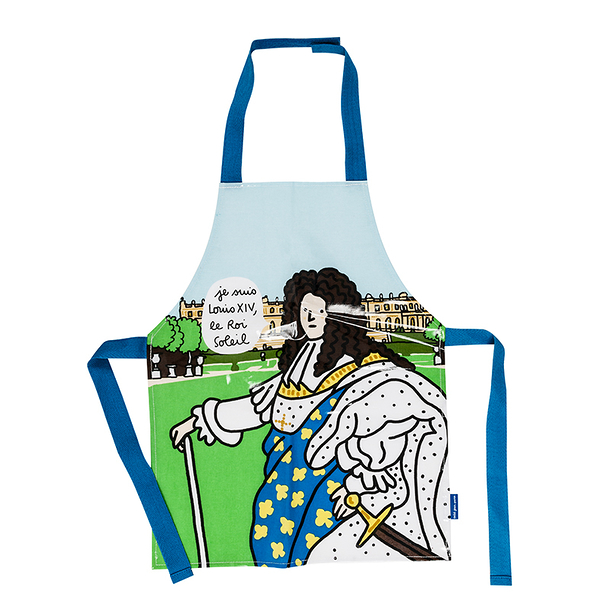 Louis XIV Apron I am Louis XIV, the Sun King