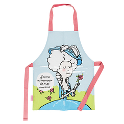 Marie-Antoinette Apron I like to take care of my roses