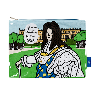 Louis XIV Pouch - I am Louis XIV, the Sun King