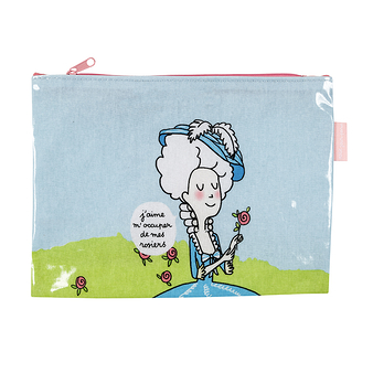 Marie-Antoinette Pouch - I like to take care of my roses
